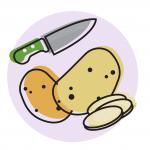 patatas fondo